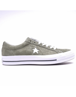 Converse One Star Vintage Suede Khaki Low Top