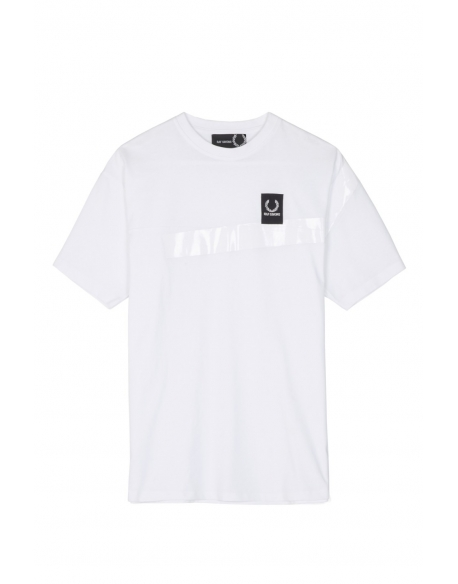 Raf Simons x Fred Perry Tape Detail T-shirt White