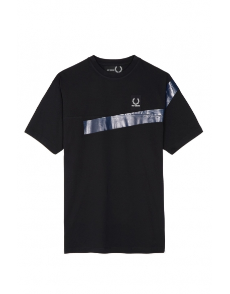 Raf Simons x Fred Perry Tape Detail T-shirt Black