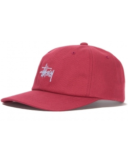 Stussy STOCK LOW PRO CAP RED
