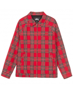Stussy BRYAN JACKET Red
