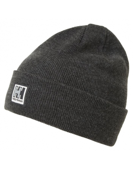 HELLY HANSEN KNITTED BEANIE 980 EBONY