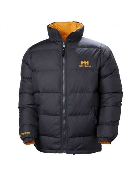 HELLY HANSEN REVERSIBLE DOWN JACKET 980 EBONY