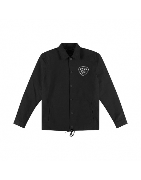 Deus Bench Coach Jacket black