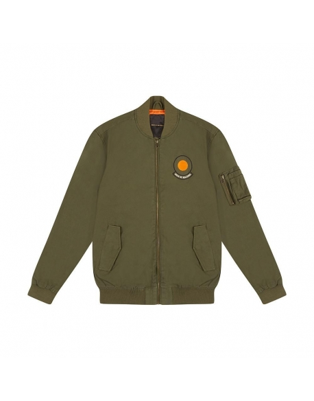 Deus Elias Croc Bomber Pine-Orange