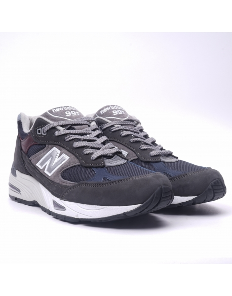 NEW BALANCE M991 D GNN GREY/NAVY