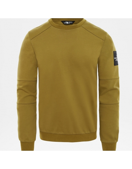 THE NORTH FACE FINE CREW SWEAT LT FIRE GREEN
