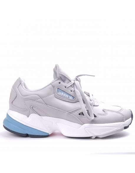 Adidas Falcon W  Grey leather