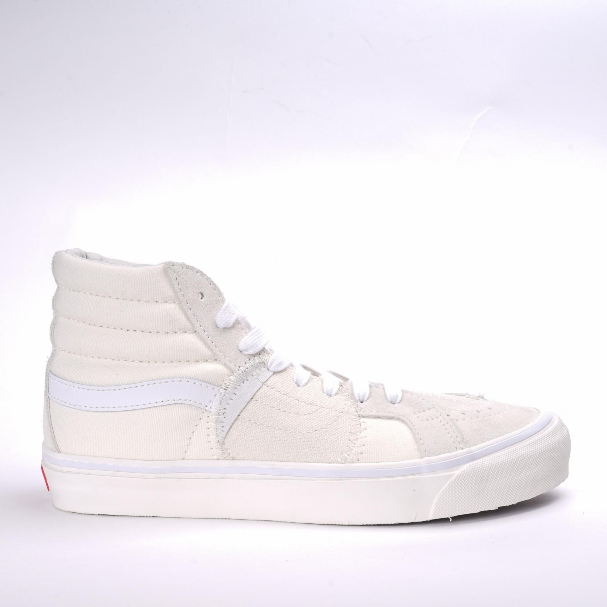 d1285b9185 VANS SK8-Hi Bricolage VINTAGE WHITE - Slash Store