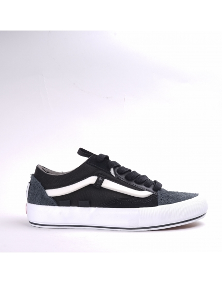 VANS Old Skool Cap LX REGRIND BLACK