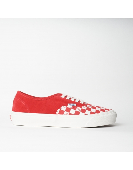 VANS OG AUTHENTIC LX (SUEDE/CANVAS) RED