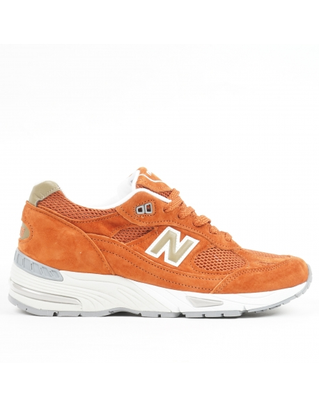 NEW BALANCE M991 D SUEDE MESH SE BURNT ORANGE