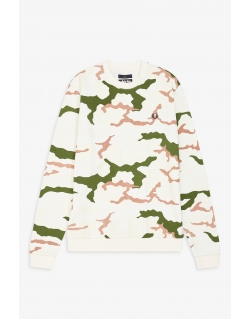 Fred Perry X ARKTIS Camouflage Sweat-Shirt Tundra Camo