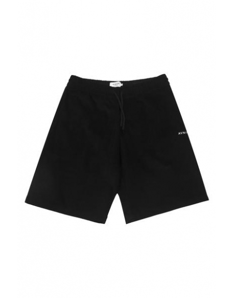 AVNIER Black velvet short