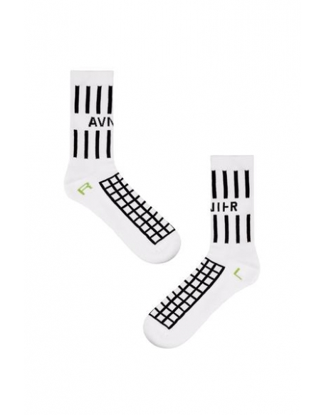 AVNIER White grille socks