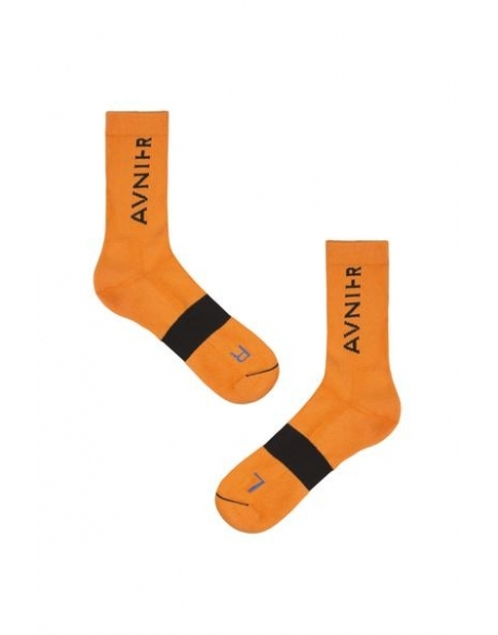 AVNIER Line orange socks