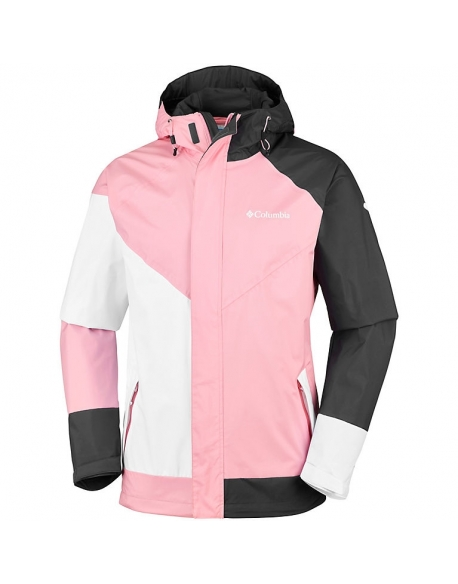 COLUMBIA WINDELL PARK JACKET EAU DE ROSE BLANC