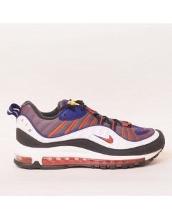 NIKE AIR MAX 98  GUNSMOKE TEAM ORANGE