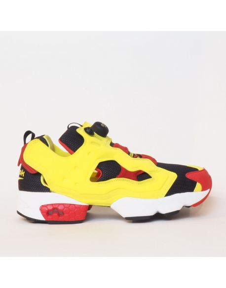 REEBOK INSTAPUMP FURY OG BLACK GREEN RED WHITE