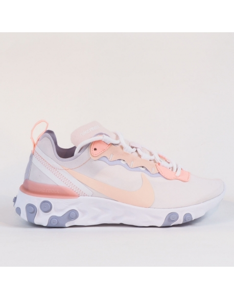 NIKE W REACT ELEMENT 55 PALE PINK WASHED CORAL