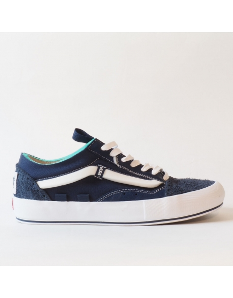 VANS OLD SKOOL CAP LX REGRIND DRESS BLUES TRUE WHITE