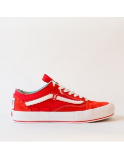 VANS OLD SKOOL CAP LX REGRIND RACING RED