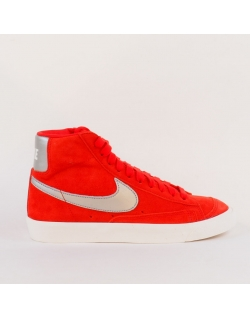 NIKE BLAZER MID 77 UNIVERSITY RED/METALLIC SILVER
