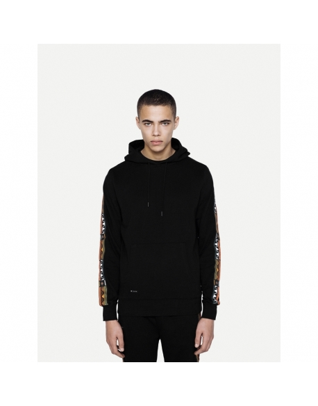 DISCONNECTED TRIBE HOODY BLACK