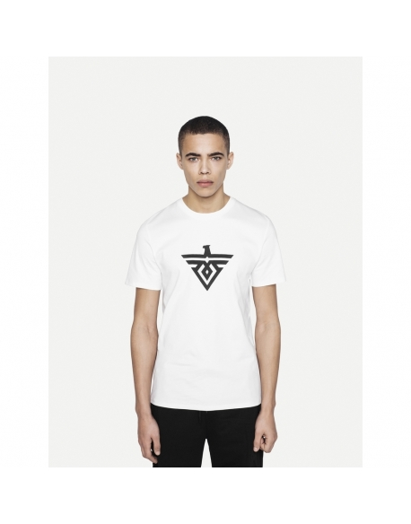 DISCONNECTED CORE1 TEE WHITE