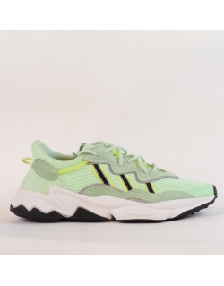 ADIDAS OZWEEGO GLOW GREEN CORE BLACK SOLAR YELLOW