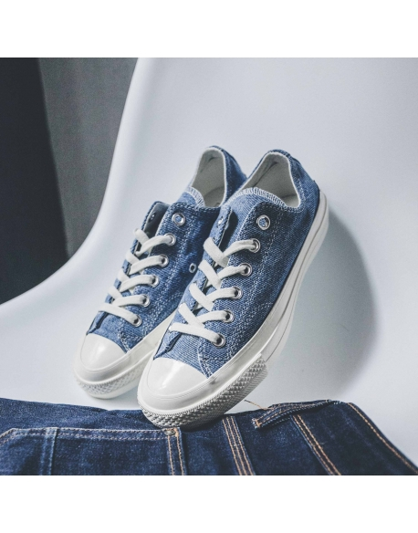 CONVERSE CHUCK 70 OX MEDIUM DENIM/EGRET/EGRET