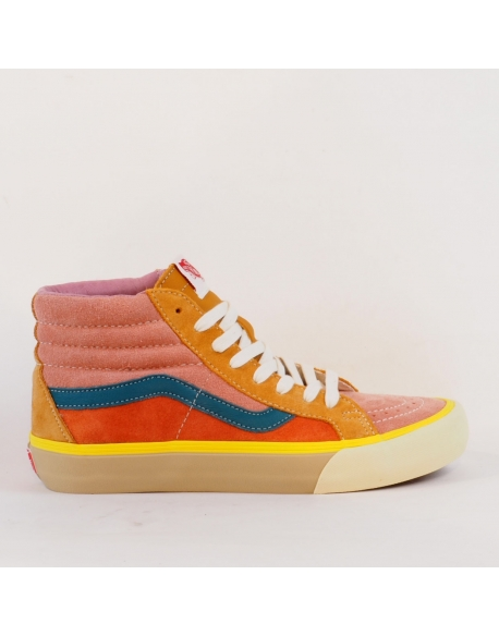 VANS SK8-HI REISSUE VLT LX (SUEDE/LEATHER) MULTI