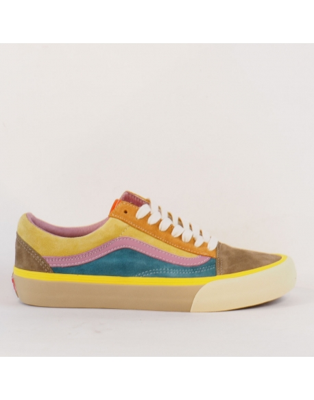 VANS OLD SKOOL VLT LX (SUEDE/LEATHER) MULTI