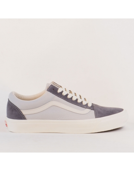 VANS OG OLD SKOOL LX (SUEDE/CANVAS)CSTLRKPLGRY