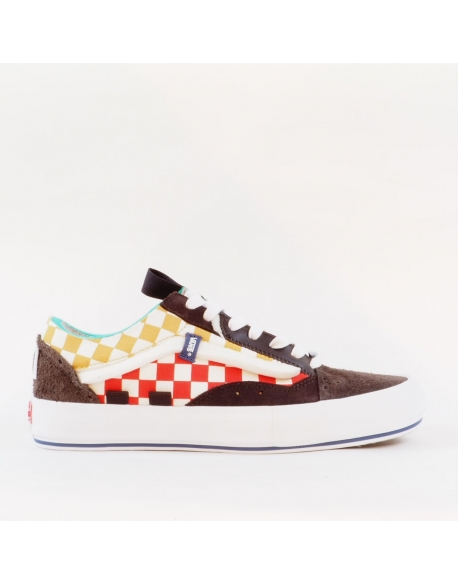 VANS OLD SKOOL CAP LX (REGRIND) BRACKED/TR WHT