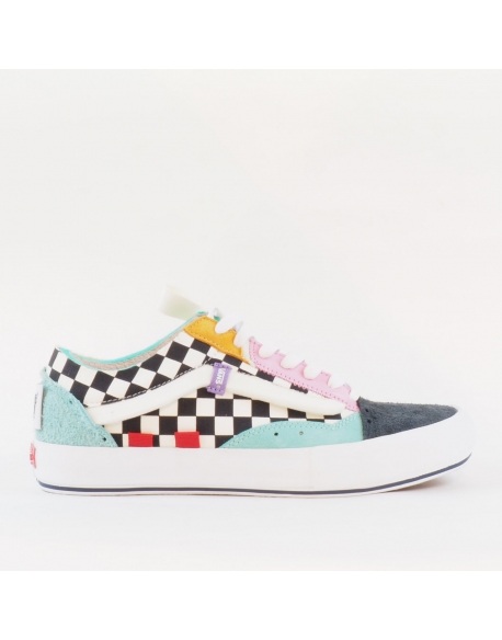 VANS OLD SKOOL CAP LX (REGRIND)HOLIDAY/TRUE WHT