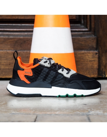 ADIDAS NITE JOGGER BLACK/GRESIX/ORANGE