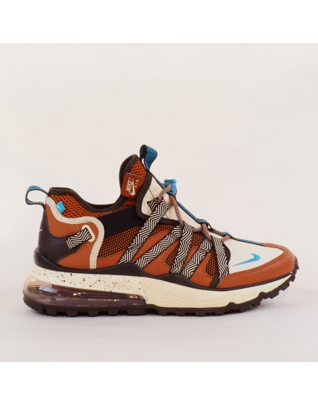 NIKE AIR MAX 270 BOWFIN DARK RUSSET/LT CURRENT BLUE