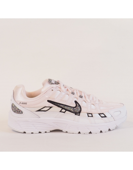 NIKE P-6000 SE LIGHT SOFT PINK/MULTI-COLOR-WHITE-BLACK
