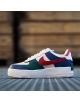 NIKE AIR FORCE 1 SHADOW MYSTIC NAVY/WHITE-ECHO PINK-GYM RED