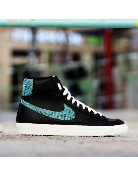 NIKE BLAZER MID 77 VINTAGE BLACK/LIGHT AQUA-SAIL