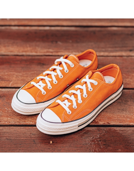 CONVERSE CHUCK 70 OX CAMPFIRE ORANGE/BLACK/EGRET