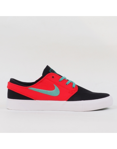 NIKE SB ZOOM STEFAN JANOSKI CANVAS RM BLACK/TRUE GREEN-ATOM RED-WHITE