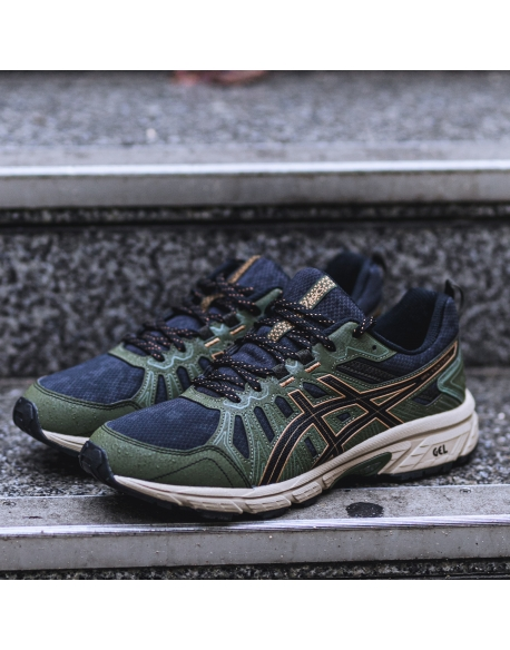 ASICS GEL 6 VENTURE 7 BLACK / TAN PRESIDIO