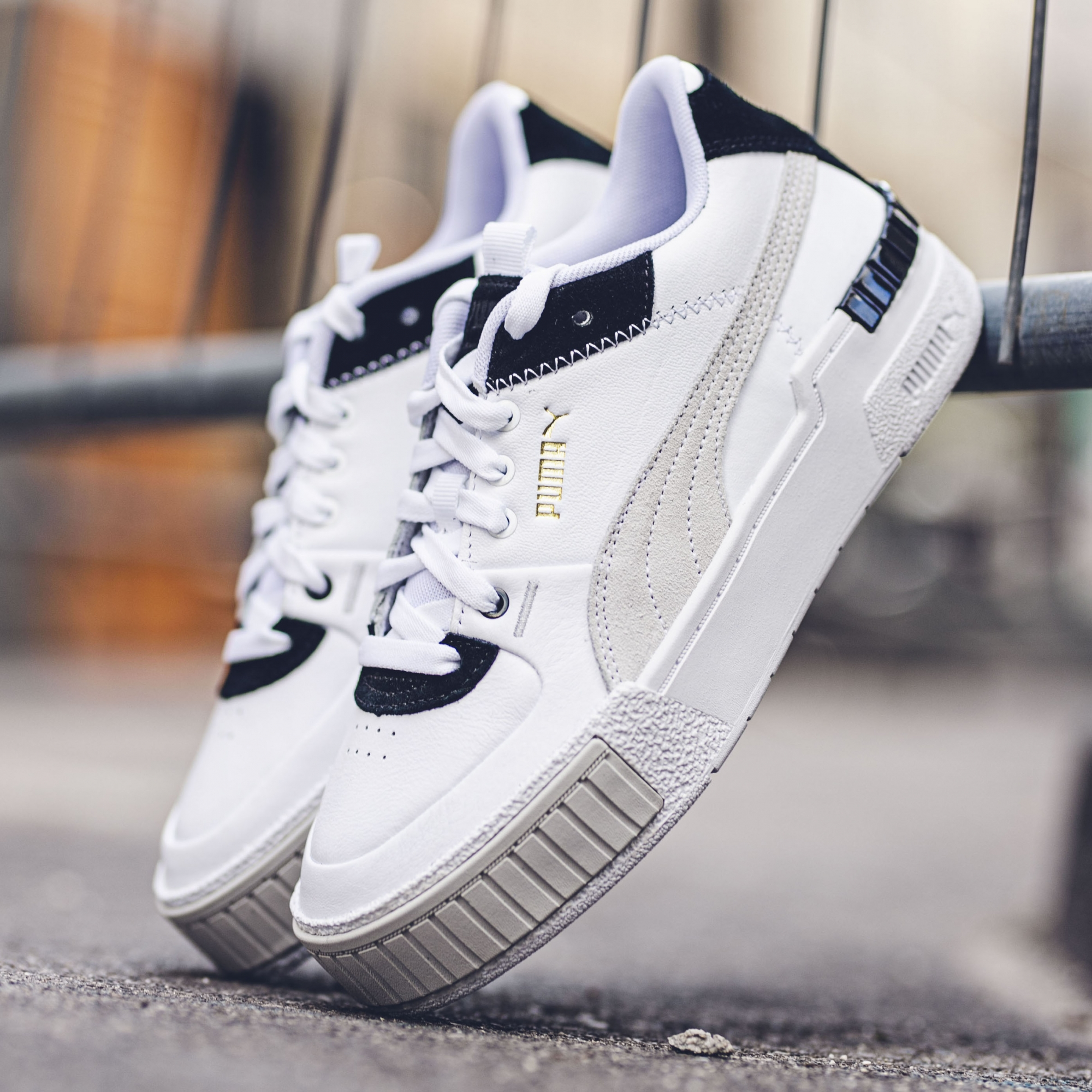 PUMA CALI SPORT WN'S.WHITE/BLACK - Slash Store