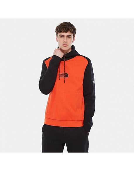 THE NORTH FACE M FINE ALPINE HD TANGERINE TANGO