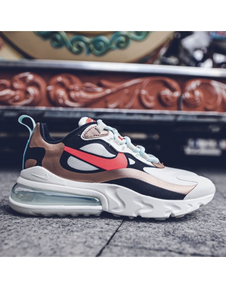NIKE WMNS AIR MAX 270 REACT SAIL/BLACK