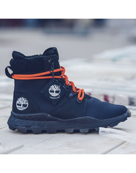 TIMBERLAND  BROOKLYN FABRIC 6 INCH JET BLACK