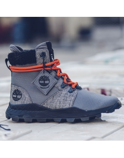 TIMBERLAND X RAEBURN BROOKLYN FABRIC 6 INCH PEWTER