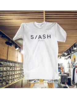 SLASH TEE WHITE